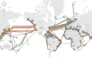 Internet cable map