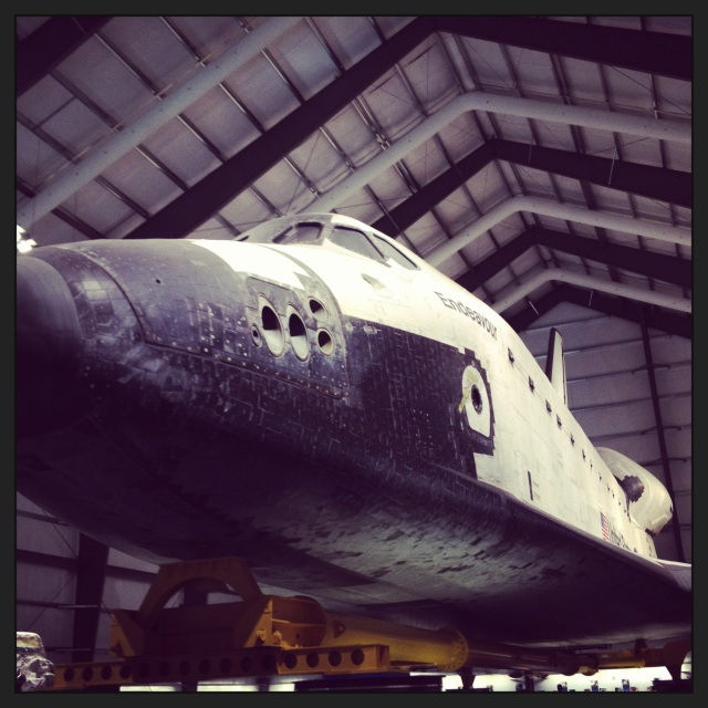 The Endeavor has really cool, numbered ceramic tiles!