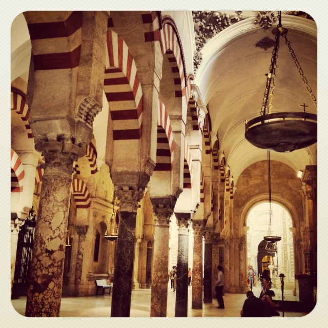 The Mosque at Cordoba. The *best* building inside of a building.