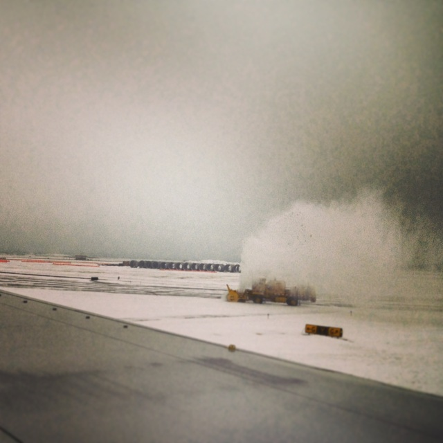 ORD. Flying out in winter. (it looks worse than it is...)