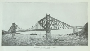 Golden Gate Bridge, SF -- alternative