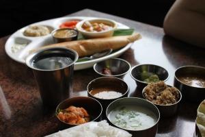 Gujarati Thali- the local cuisine