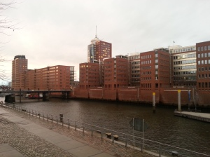 Canal in HafenCity