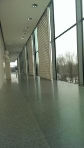 3rd floor hallway in Foster's Art of the America's wing