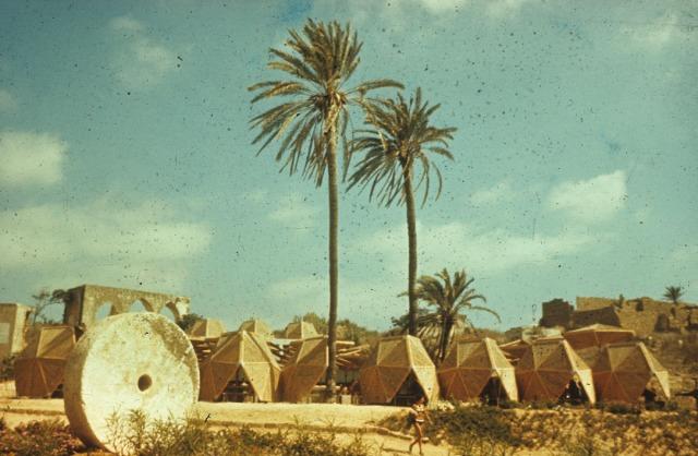 Club Mediteranée Holiday Camp, Achziv, Israel, 1960-1961.