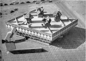 Bat Yam Town Hall and Civic Centre, Bat Yam, Israel, 1959-63.