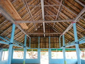 Vaitupu community hall; Modified traditional construction