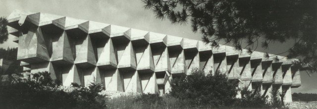 Danciger Laboratory Building for the Faculty of Mechanical Engineering, Technion - Israel Institute of Technology, Haifa, Israel, 1963-66.